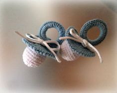 Miniature Crochet Handmade Baby Pacifier Favor/ Pacifier Baby Shower Favors, Thakyou gift for newborn baby