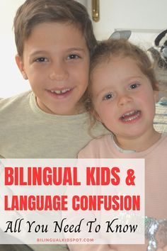 Do bilingual kids get confused speaking 2 languages? Find out all you need to know about bilingual kids and language confusion in this post. Language Study, Learn A New Language, Language Development, Second Language, Confusion, Raising Kids, Languages, Parenting Hacks, Need To Know
