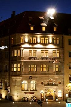 Hotel Victoria, Nuremberg, Germany - Home Away from Home