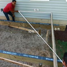 How to Build a Deck: Post Holes and Deck Framing Concrete Prices, Concrete Patio Designs, Home Building Tips, Building A Deck, Building Plans, Deck Footings, Decking, Freestanding Deck, Gazebo On Deck