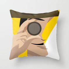 Inspector+Throw+Pillow+by+Sibriega+-+$20.00