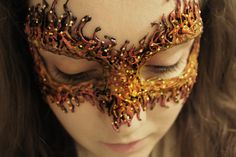 DIY: Fire Masquerade