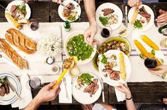 Dinner party (What Katie Ate: Real Living Australia Day Shoot) Design Blog, The Design Files, What Katie Ate, Australia Day, Dinner With Friends, Le Chef, Me Time, Food For Thought, Food Inspiration