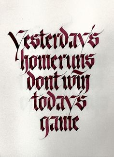 Calligraphy by Sachinspiration