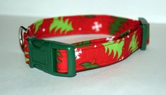 Christmas Tree Dog Collar // Handmade & by PawesomePups on Etsy