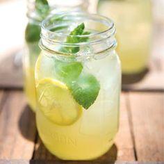 Sparkling mint lemonade.  I need fun, non-alcoholic drinks this summer.