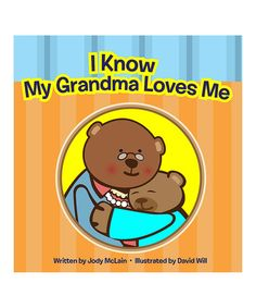 Look at this #zulilyfind! I Know My Grandma Loves Me Board Book by PC Treasures #zulilyfinds
