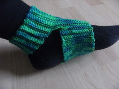 redclovercrochet: Yoga socks #2