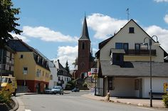 Sohren, Germany - the closest German town to America's Hahn Air Force Base, where my stepson was stationed in 1976.