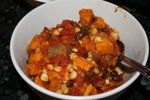 ROCKIN' Sweet Potato Chili Recipe (vegetarian, vegan, gluten-free) by Fit & Healthy Mommy http://www.fitnhealthymommy.blogspot.com find me on Facebook: http://www.facebook.com/fithealthymommy