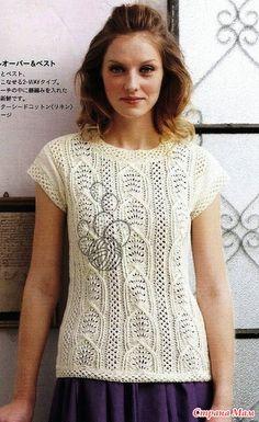 Журнал: Lets knit series NV80258 №4 2012 Spring & Summer (вязание спицами и крючком)