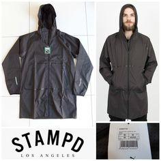 bfbebd49bdc6 PUMA X Stampd Lightweight Long Woven Jacket Coat 570917 Men s Medium (m)  for sale online