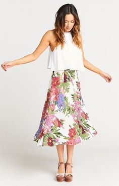 Tea Party Midi Skirt ~ Duchess Darling  | Show Me Your Mumu