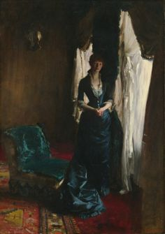 """Madame Paul Escudier"" - John Singer Sargent"