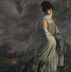 Retrato de la señora Atucha.