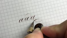 """1,026 Likes, 26 Comments - Kei Han Goodman (@kei.haniya) on Instagram: """"A simple progression of ending flourishes you can try. 303 nib / walnut ink #calligraphy…"""""""
