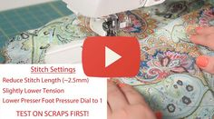 Sewing Minis (Ep 7): How to Sew Sheer Fabric -