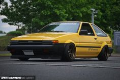 Toyota Sprinter Trueno – beautiful On car , old , and trucks , car , cars I don't like new cars; I'm into vintage cars - there's a Jaguar E-Type in the 'Goldie' video. Tuner Cars, Jdm Cars, Nissan 240sx, Nissan Gtr Skyline, Ford Classic Cars, Japan Cars, Import Cars, Toyota Cars, Toyota Corolla