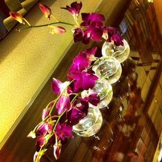 lovely vase and orchids @RenHotels @MarriottIntl // Charlotte, NC // {the five senses} in the Queen City #5senses #sight #clt (Taken with Instagram at Renaissance Charlotte SouthPark Hotel)
