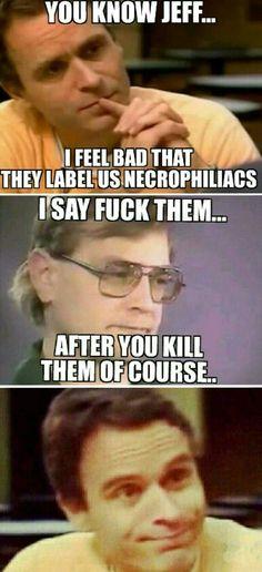 Serial killer humor