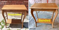 Spray painting new, slightly used furniture. Spray Painting, Painting Tips, Bronze Spray Paint, Furniture Fix, Decorating Blogs, Color Themes, Repurposed, Happy, Table