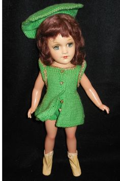 Composition Mary Hoyer Doll in Knit Outfit