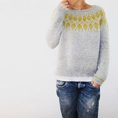 Ravelry: Humulus sweater knitting pattern by Isabell Kraemer