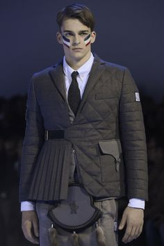 Moncler Gamme Bleu | Fall 2013 Menswear Collection | Style.com
