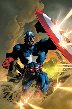 """""""Secret Avenger Limited Edition Giclee on Canvas by Mike Deodato Jr. and Marvel Comics. Numbered and Hand Signed by Stan Le Marvel Comics, Marvel E Dc, Arte Dc Comics, Marvel Universe, Capitan America Marvel, Captain America Comic, Capt America, Comic Book Artists, Comic Books Art"""