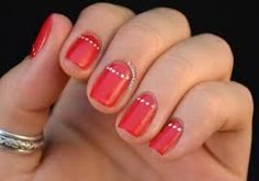 red wedding nails - Google Search