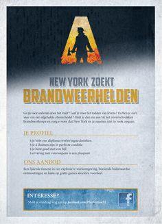 Wanted: New York Fireman