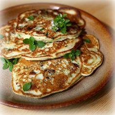 houbové lívanečky recept Pancakes, Recipies, Breakfast, Czech Food, Recipes, Breakfast Cafe, Pancake, Rezepte