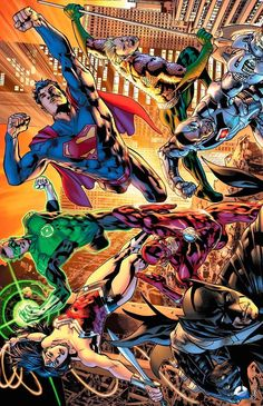 JLA #1 by Bryan Hitch - Visit to grab an amazing super hero shirt now on sale!