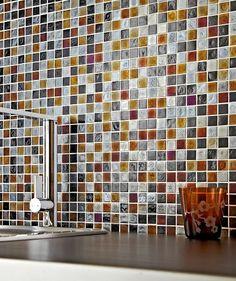 Botella Midnight Haze Mosaic Tile™