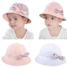 2017 Double Sided Summer Baby Girls SUN HAT