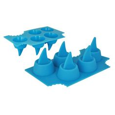 Shark Fin Ice Tray Set Of 2, $12.50, now featured on Fab.