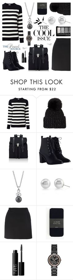 """The Pearl Source 12"" by anyasdesigns ❤ liked on Polyvore featuring Yves Saint Laurent, Eugenia Kim, Proenza Schouler, Zimmermann, J.Crew, NARS Cosmetics and Michael Kors"