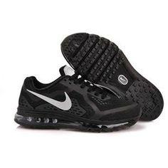 brand new de9d4 da98d Nouveau Noir MetTousic Argent Hommes Nike Air Max 2014 621077 017 Nike Air  Max Black,