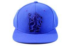 5d92e81edd1 Adidas Men s Chelsea FC Antham Blue Snapback Cap Hat Adjustable Size