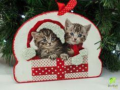 Karácsonyi cicás ajtódísz http://biowellnatura.hu/p/karacsonyi-cicas-ajtodisz.html