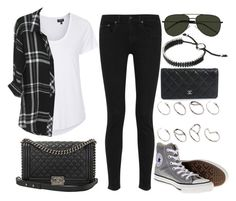 """""""Style #9019"""" by vany-alvarado ❤ liked on Polyvore featuring rag & bone, Converse, Topshop, Rails, Chanel, Yves Saint Laurent, Links of London and ASOS"""