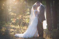 Romantic Bridal Portrait, Veil Bridal Portrait, Magic Hour, Colorado Wedding Photography, Allison Easterling Photography