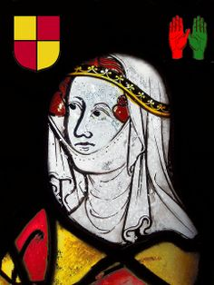 Elizabeth de Burgh, 4th Countess of Ulster - 20th Paternal Great Grandmother.  Wife of Lionel of Antwerp and mother of Philippa Plantagenet, 5th Countess of Ulser. Elizabeth de Burgh (c. 1284 – 27 October 1327) was the second wife and the only queen consort of King Robert the Bruce.