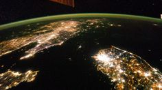 Photos From Space: At Night, North Korea Goes Totally Black
