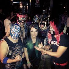 今超話題のメキシコ最強ルチャリブレバンド 「#ElConjuntoNuevaOla – エル・コンフント・ヌエバ・オラ」がロサンゼルスで大暴れ - http://japa.la/?p=36986