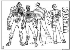 spiderman villains coloring pages from Spiderman Coloring Pages Printable. The Spiderman is a well known super hero who is good at climbing buildings. The red-costumed superhero figure was created by comic artist Stan Lee ab. Lego Spiderman, Green Goblin Spiderman, Amazing Spiderman, Superhero, Truck Coloring Pages, Coloring For Kids, Printable Coloring Pages, Coloring Pages For Kids, Coloring Books