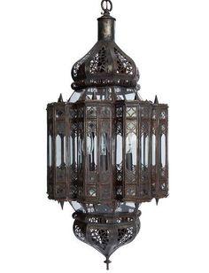 Moroccan style lantern #morocco #design #lantern #art
