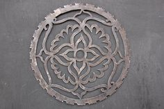Saw blade plasma cut mandala by Lucy Gill by RebusShop on Etsy