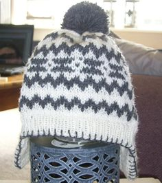 Ravelry: Project Gallery for Califairisle Hat pattern by Deanna Sommars