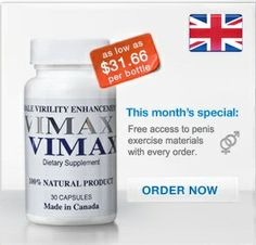 VIMAX™ Most Potent Men's Virility Pills | Supplier Site in UK
